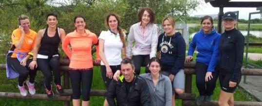 Foto de familia del Bodytec Running Club